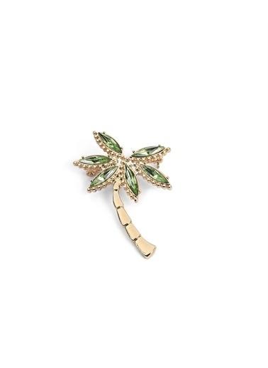 Twist Kadın Palmiye Figür Broş TS1210057007265 Renkli